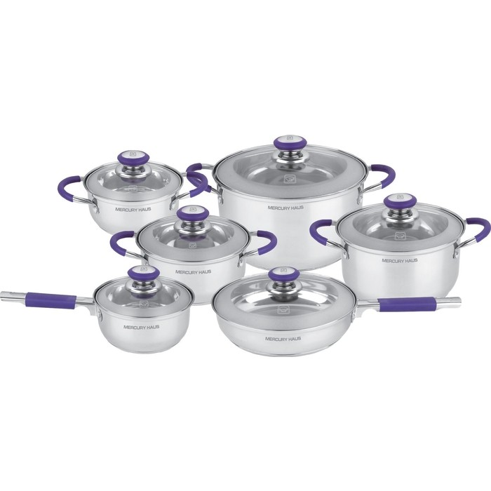 Набор посуды 12 предметов MercuryHaus (MC-7029)