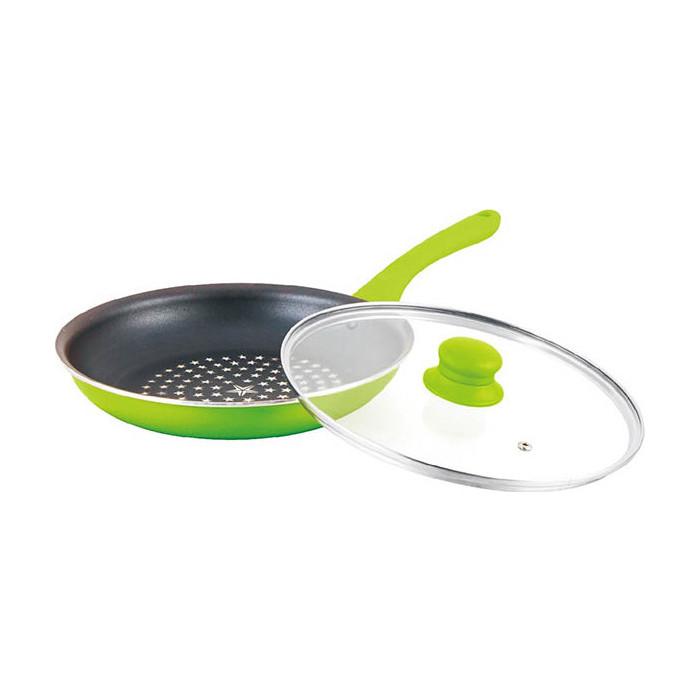 Сковорода MercuryHaus d 22см (MC-6253 зеленая) сковорода d 24 см kukmara кофейный мрамор смки240а