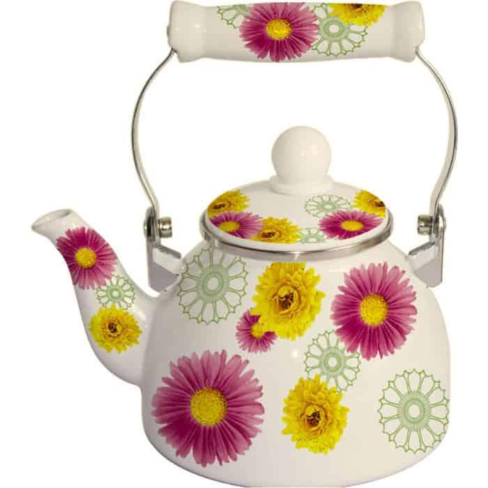Чайник эмалированный 1.5 л MercuryHaus (MC-7502) чайник эмалированный 1 8 л mercuryhaus mc 7567