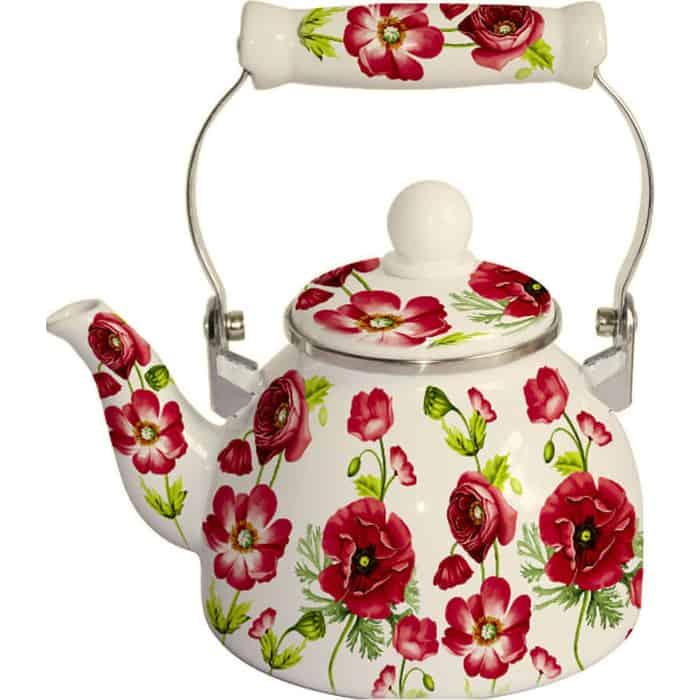 Чайник эмалированный 2 л MercuryHaus (MC-7509) чайник эмалированный epos дары лета 2 л
