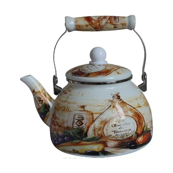 Чайник эмалированный 2 л MercuryHaus (MC-7510) чайник эмалированный epos дары лета 2 л