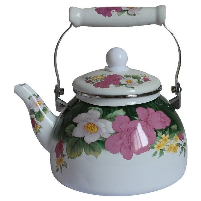 Чайник эмалированный 2 л MercuryHaus (MC-7511) хозяйственный блок keter oakland 7511 серый 17201421