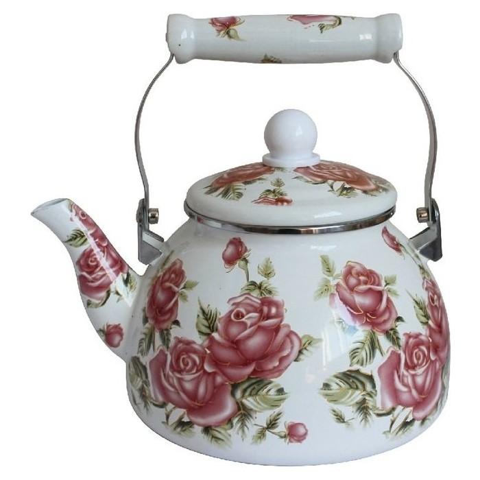 Чайник эмалированный 2 л MercuryHaus (MC-7512) чайник эмалированный epos дары лета 2 л