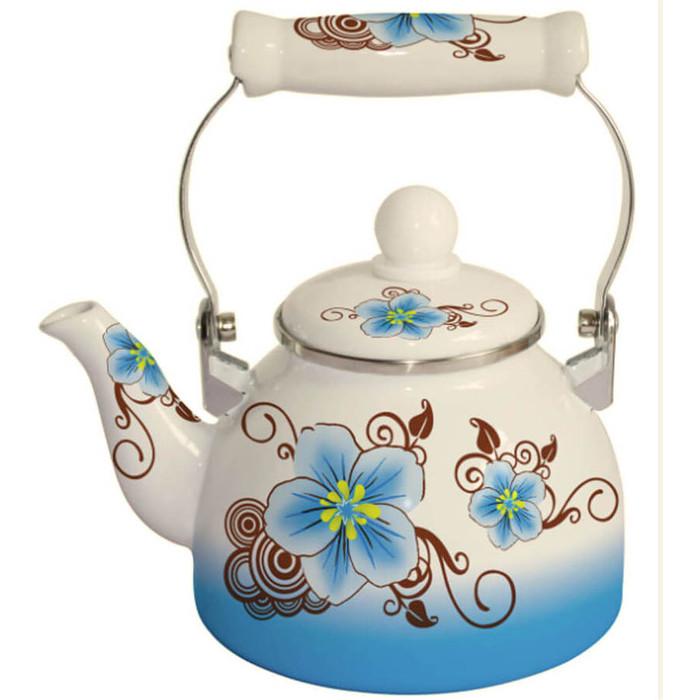 Чайник эмалированный 2 л MercuryHaus (MC-7518) чайник эмалированный epos дары лета 2 л