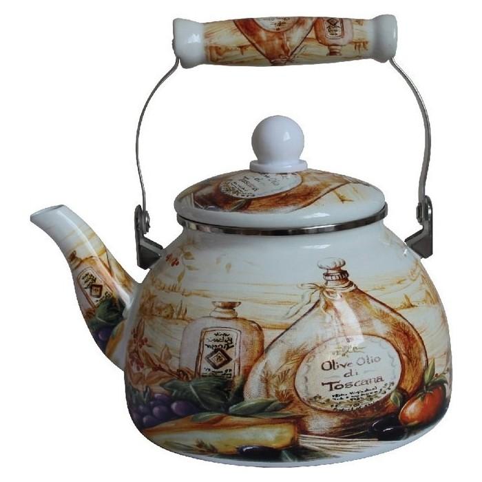 Чайник эмалированный 2.2 л MercuryHaus (MC-7523) чайник эмалированный 1 8 л mercuryhaus mc 7567