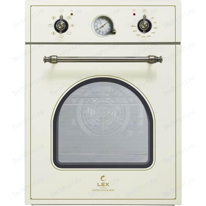 Электрический духовой шкаф Lex EDM 4573C IV Light