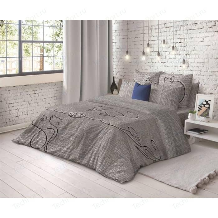 Комплект постельного белья Волшебная ночь 1,5 сп, ранфорс, Line (743973) комплект постельного белья altinbasak 1 5 сп ранфорс aliz коричневый 298 36 char002