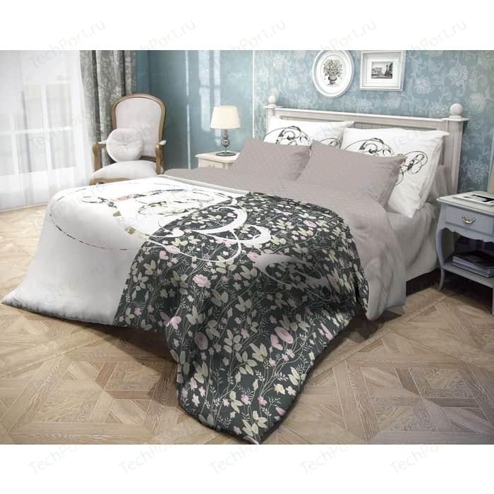 цена Комплект постельного белья Волшебная ночь семейный, ранфорс, Amour (745074) онлайн в 2017 году
