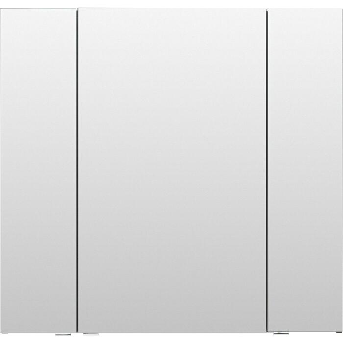 Зеркальный шкаф Aquanet Алвита 90 серый антрацит (240110)