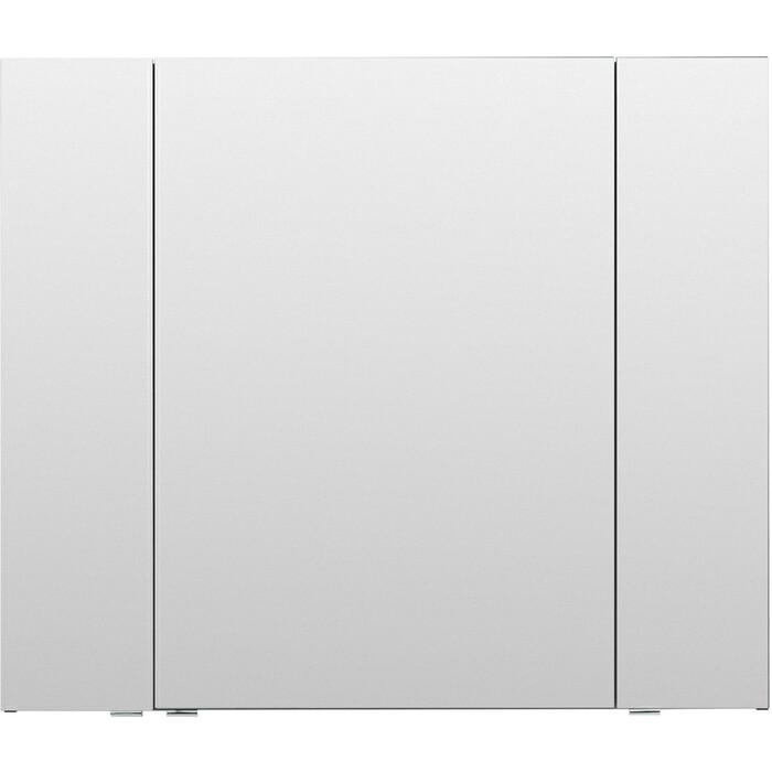 Зеркальный шкаф Aquanet Алвита 100 серый антрацит (240113)