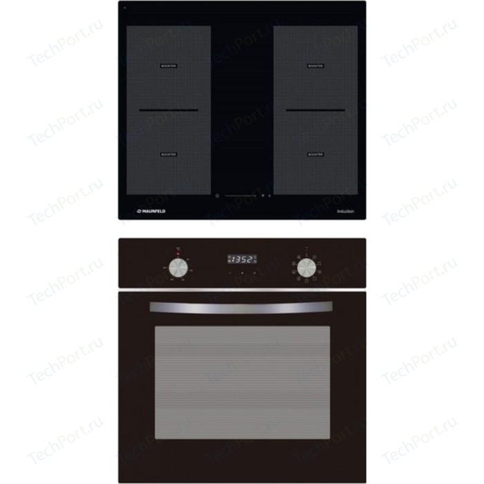 Встраиваемый комплект MAUNFELD MVI 59.2FL-BK + EOEM.589B electric brass cabinet maunfeld eoem 769bg ivory