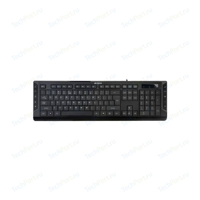 Клавиатура A4Tech KD-600 X-Slim Black USB
