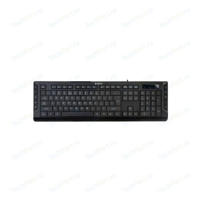 Клавиатура A4Tech KD-600 X-Slim Black USB цена 2017