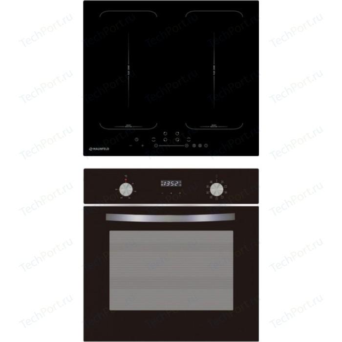 Встраиваемый комплект MAUNFELD EVI.594-FL2-BK + EOEM.589B electric brass cabinet maunfeld eoem 769bg ivory