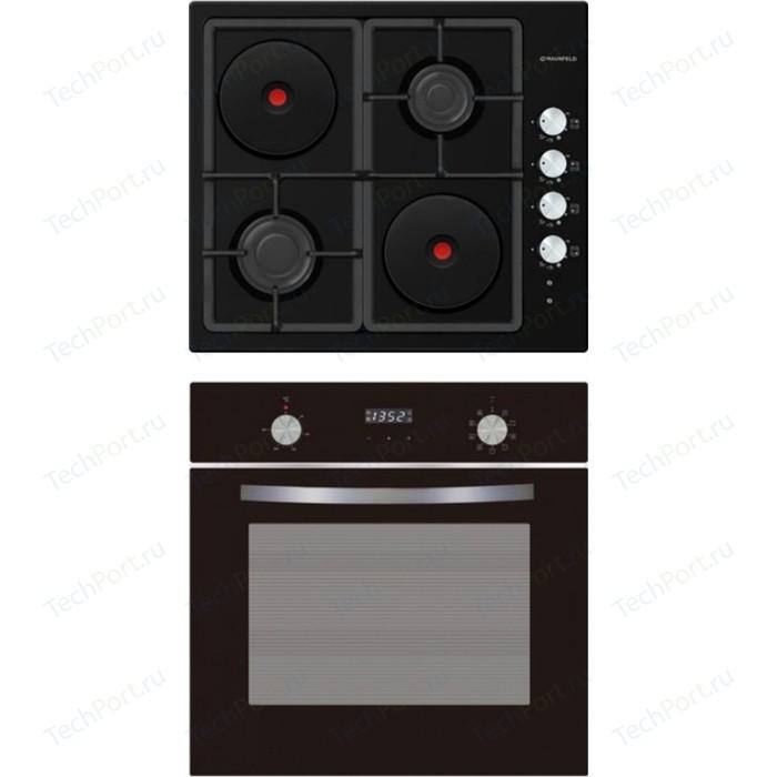 Встраиваемый комплект MAUNFELD EEHE.64.5EB/KG + EOEM.589B electric brass cabinet maunfeld eoem 769bg ivory