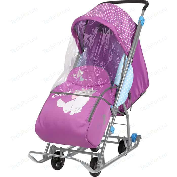 Санки коляски Ника Disney Baby 1 (С Мари орхидея)