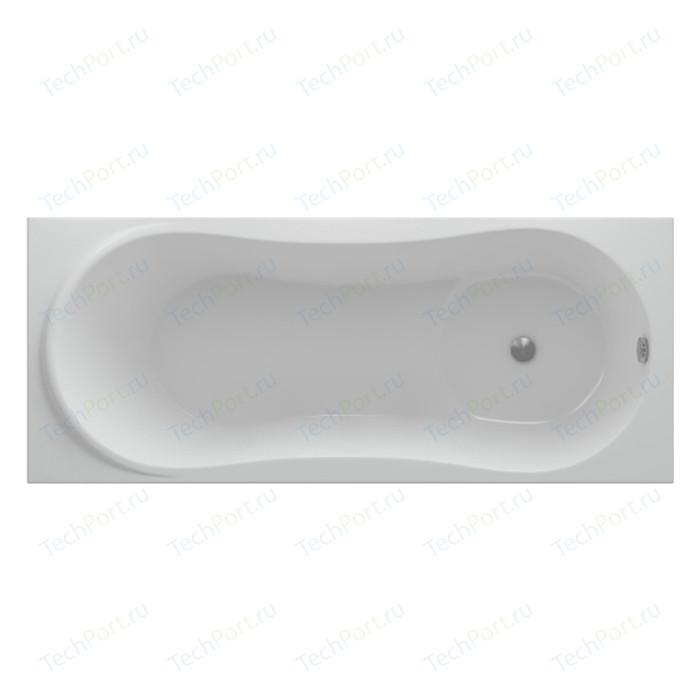 Акриловая ванна Aquatek Афродита 170х70 фронтальная панель, каркас, слив-перелив справа (AFR170-0000054) акриловая ванна aquatek оберон 180х80 фронтальная панель каркас слив перелив справа obr180 0000009