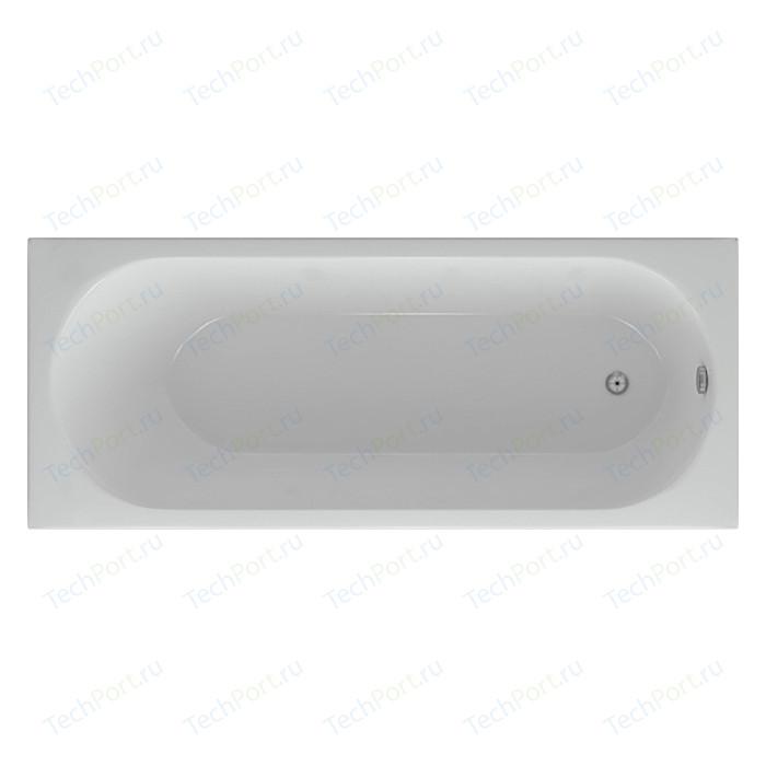 Акриловая ванна Aquatek Оберон 160х70 фронтальная панель, каркас, слив-перелив слева (OBR160-0000026)