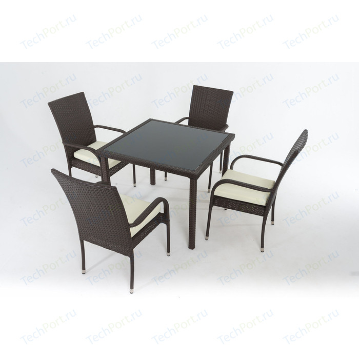 Комплект для отдыха Vinotti F0824 (4 кресла+стол)
