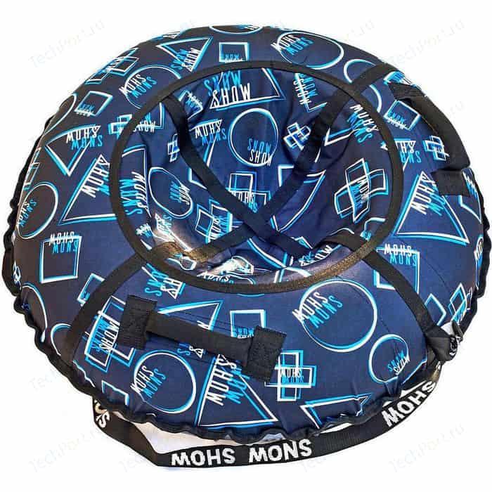 Тюбинг RT Геометрия синий узор, диаметр 118 см