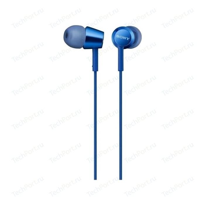 Наушники Sony MDR-EX155AP blue