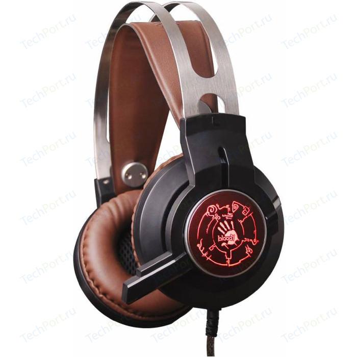Игровая гарнитура A4Tech Bloody G430 Black Brown