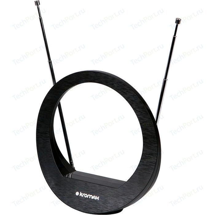 Комнатная антенна Kromax FLAT-02 black