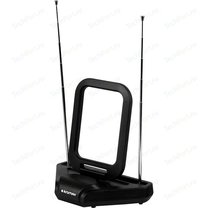 Комнатная антенна Kromax FLAT-03 black