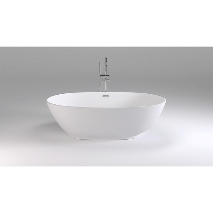 Акриловая ванна Black&White Swan 180x90 каркас, слив-перелив push-open (106SB00)