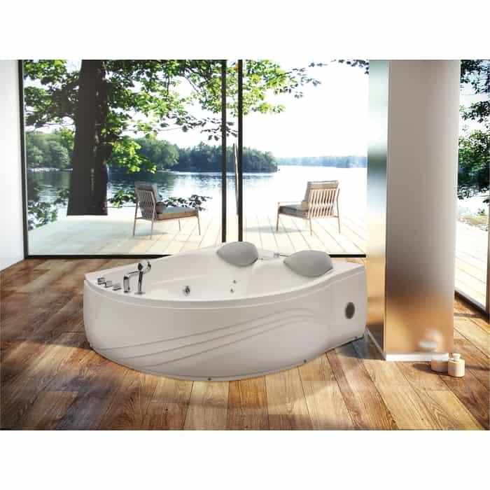 Акриловая ванна Black&White Galaxy 175x160 с гидро и аэромассажем (5005000)