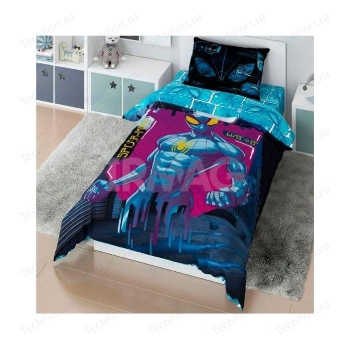 Комплект постельного белья MARVEL 1,5 сп Spidermen matrix (728280)