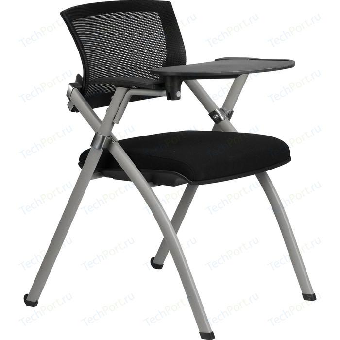 Кресло Riva Chair RCH 462TE складное черное с пюпитром