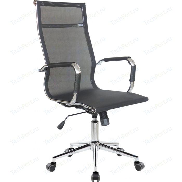 Кресло Riva Chair RCH 6001-1S черная сетка (W-01)