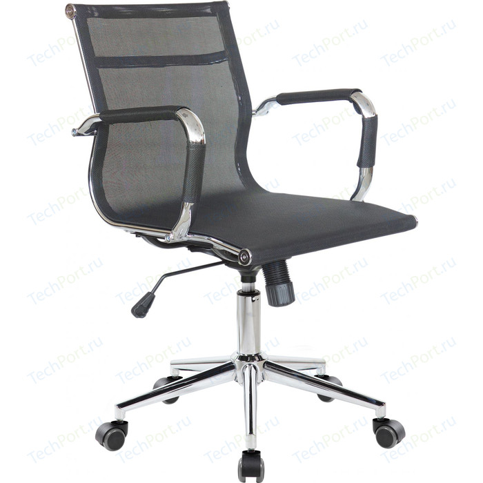 Кресло Riva Chair RCH 6001-2S черная сетка (W-01)