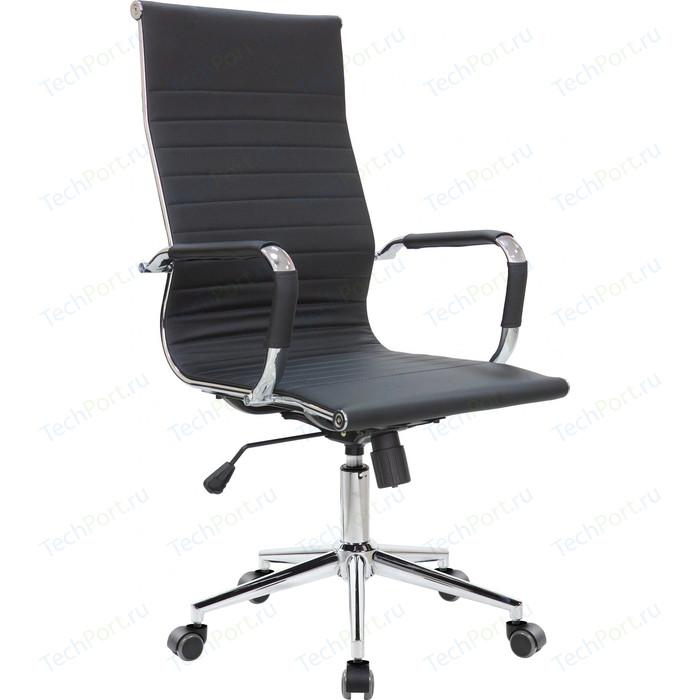 Кресло Riva Chair RCH 6002-1S черный (Q-01) кресло riva chair rch 6016 3 светлый беж q 071