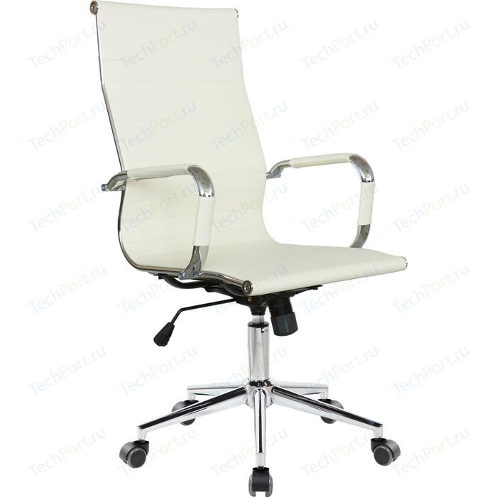 Кресло Riva Chair RCH 6002-1S светлый беж (Q-07) кресло riva chair rch 6016 3 светлый беж q 071