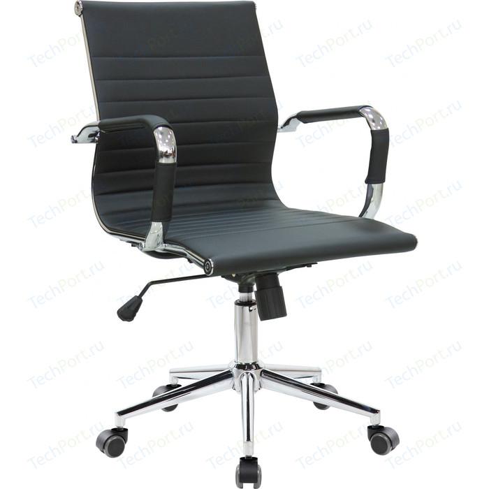 Кресло Riva Chair RCH 6002-2S черный (Q-01) кресло riva chair rch 6003 3 camel q 04