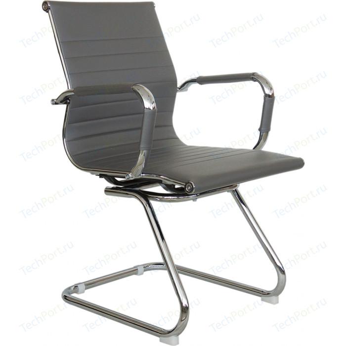 Кресло Riva Chair RCH 6002-3 серый (Q-02) кресло riva chair rch 6003 3 camel q 04