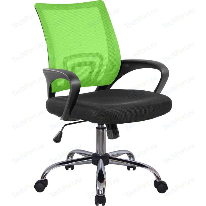 Кресло Riva Chair RCH 8085JE зеленый/крестовина хром