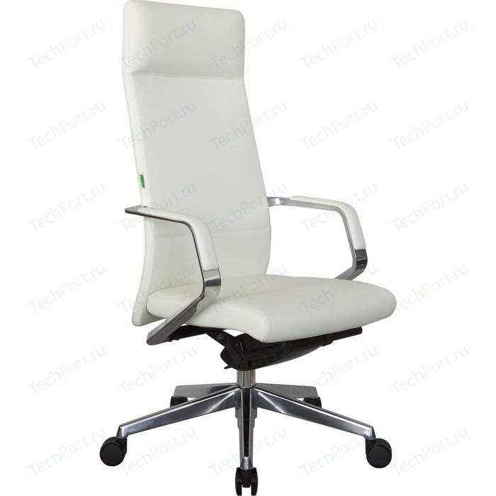 Кресло Riva Chair RCH А1811 натуральная кожа белый (6207)
