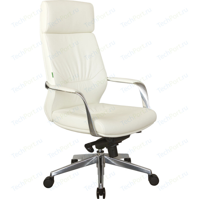 Кресло Riva Chair RCH А1815 натуральная кожа белый (6207)