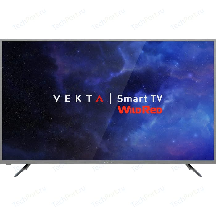 LED Телевизор VEKTA LD-50SU8731SS телевизор vekta ld 22tf5011bt