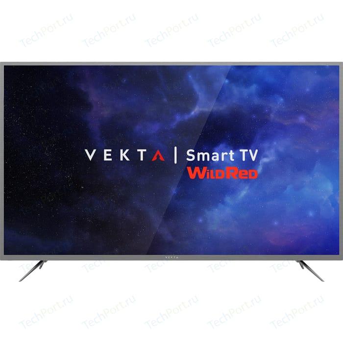 LED Телевизор VEKTA LD-65SU8731SS телевизор vekta 43 ld 43tf5513bs
