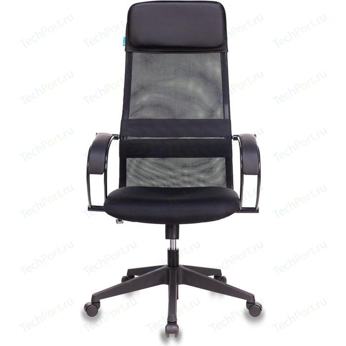 Кресло руководителя Бюрократ CH-608/BLACK спинка сетка черный TW-01 сиденье TW-11 искусст.кожа/ткань
