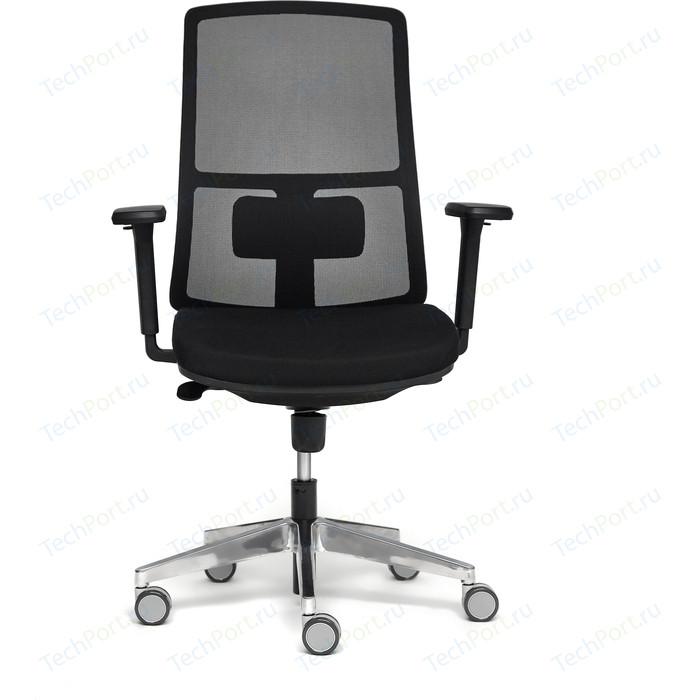 Кресло TetChair Tela alu ткань черный