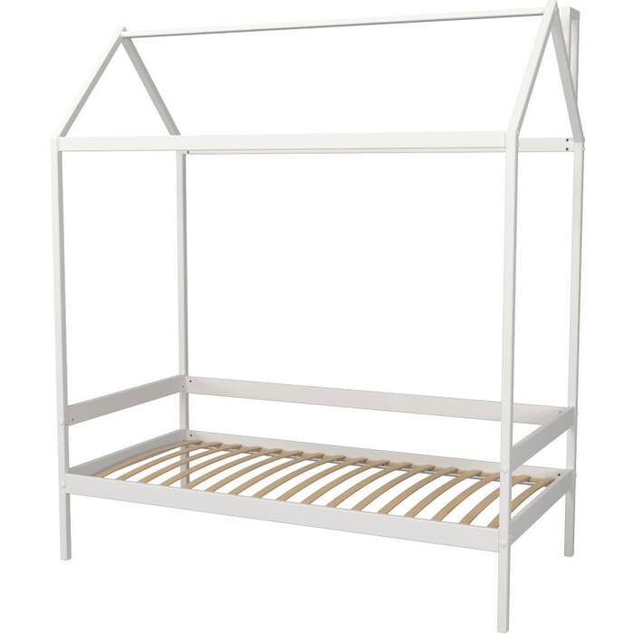 Кровать-домик Можга Красная Звезда Р424 белый