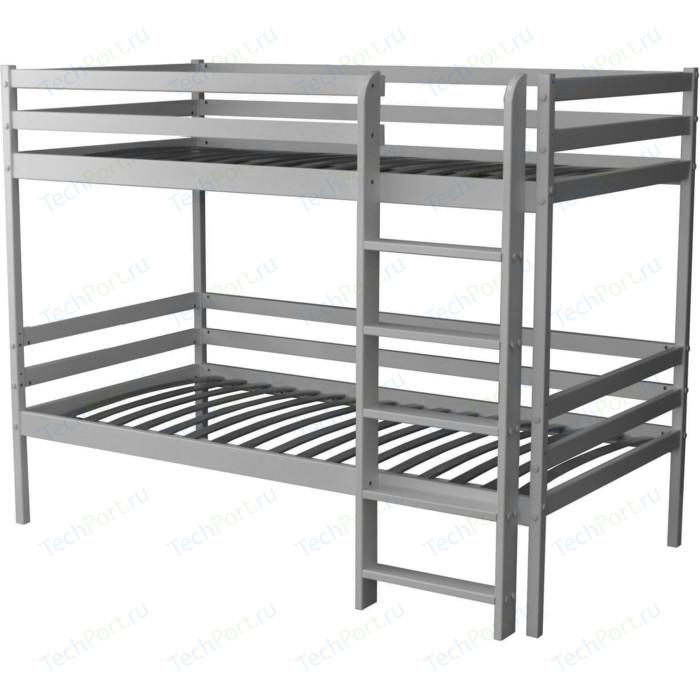 Двухъярусная кровать Можга Красная Звезда Р426 серый