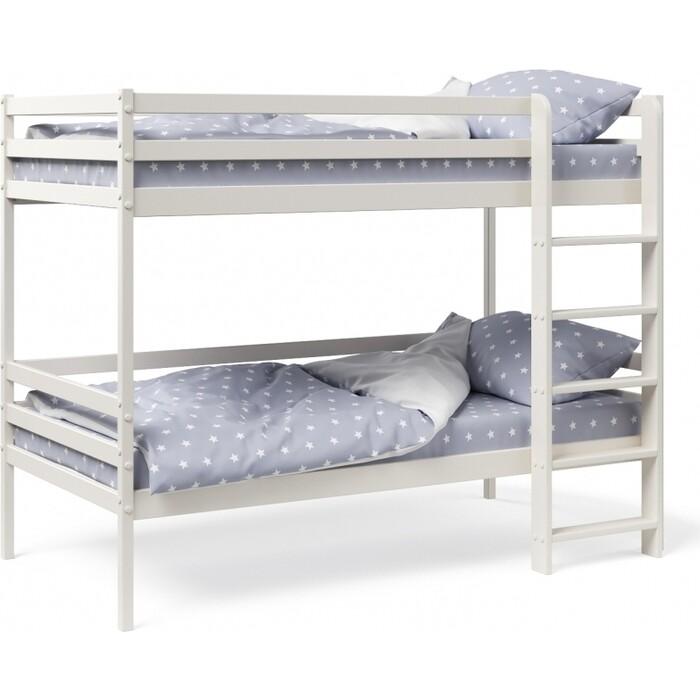Двухъярусная кровать Можга Красная Звезда Р426 ваниль