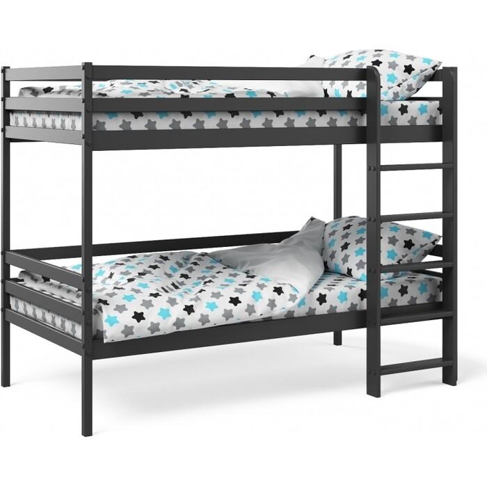 Двухъярусная кровать Можга Красная Звезда Р426 антрацит