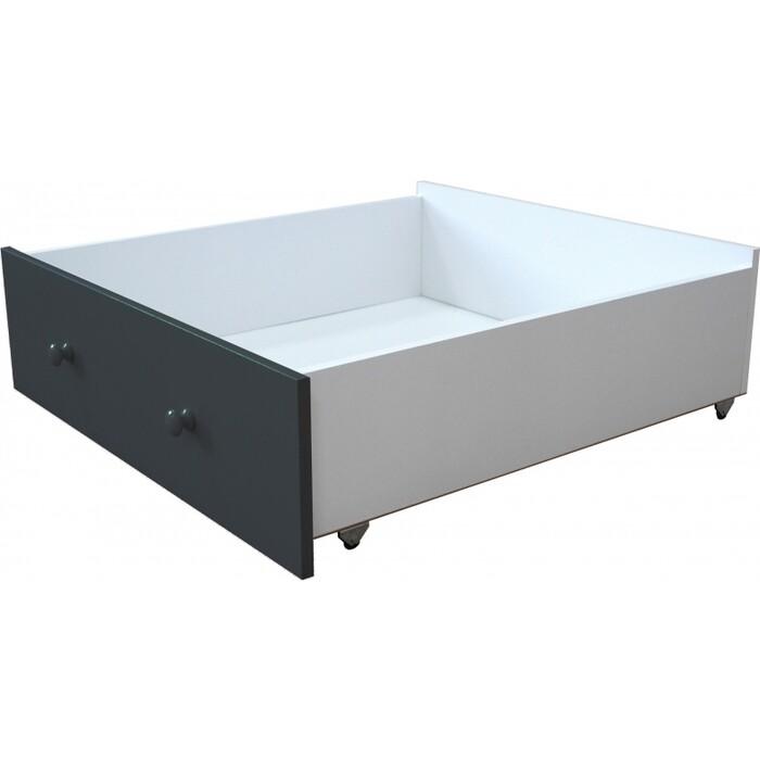 Ящик Можга Красная Звезда Р422 антрацит (для кровати Р425 белый/антрацит) аксессуары для мебели можга красная звезда ящик стола р430 2